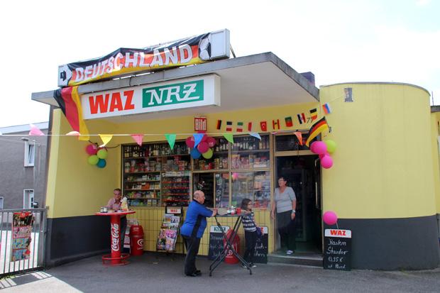 Der Kiosk Prosper sieht heute fast noch genau so aus wie damals