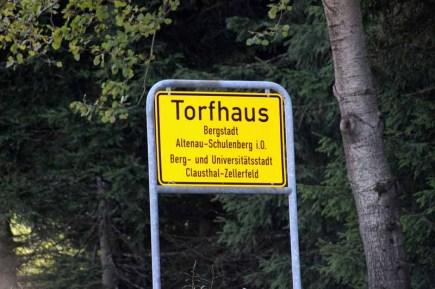 Torfhaus Ortsschild