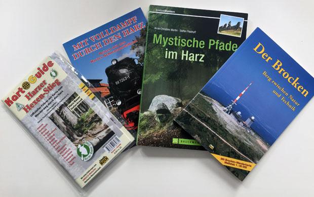 Harz Bücher - Hexenstieg wandern