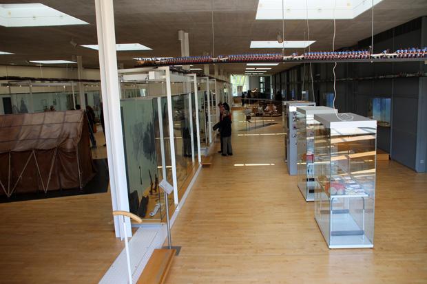 Nur dieser eine Raum ist für Besucher im Römermuseum Haltern zugänglich