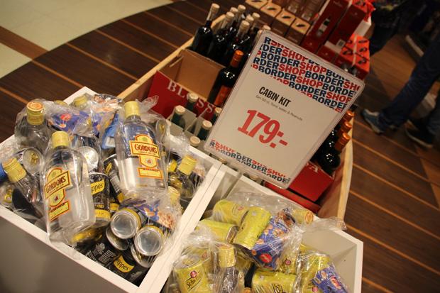Das Cabin Kit gibt es für 179 Kronen