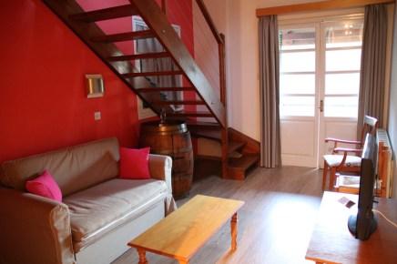 Blick in eines der Zimmer des New Helvetia Hotels im Troodos Gebirge in Platres auf Zypern