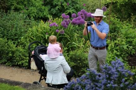 Viel zu fotografieren gibt es in den Gärten von Powis Castle in Wales