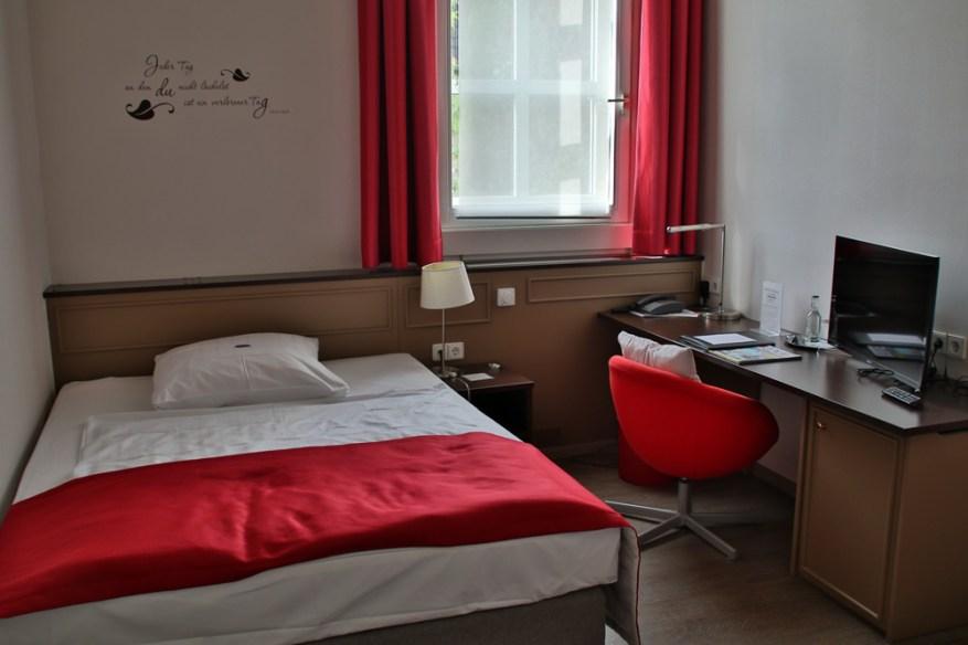 Die Zimmer im Hotel Lippischer Hof in Detmold sind modern und gemütlich