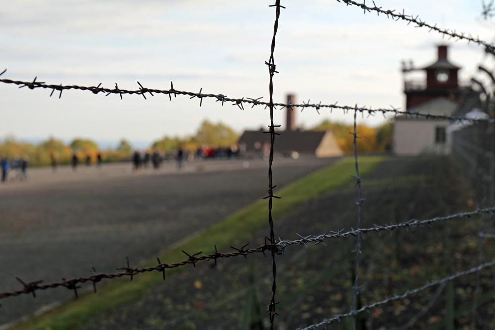 Gedenkstätte Konzentrationslager Buchenwald Stacheldraht Zaun