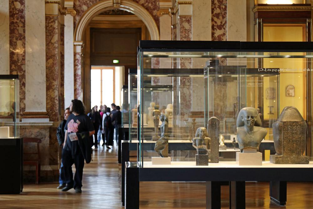 Ägyptische Sammlung im Louvre