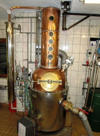 Breitfurt OGV Brennanlage Schnaps Destille Destillerie