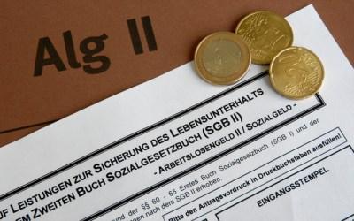 Ayuda social: Arbeitslosgeld II (Hartz IV)