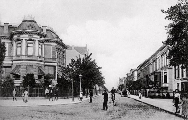 Uhlandstrasse, 1909
