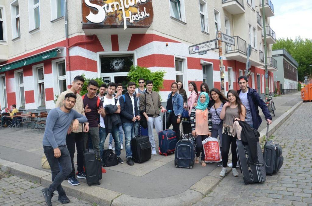 Gruppenbild von unseren LesebotschafterInnen in Berlin