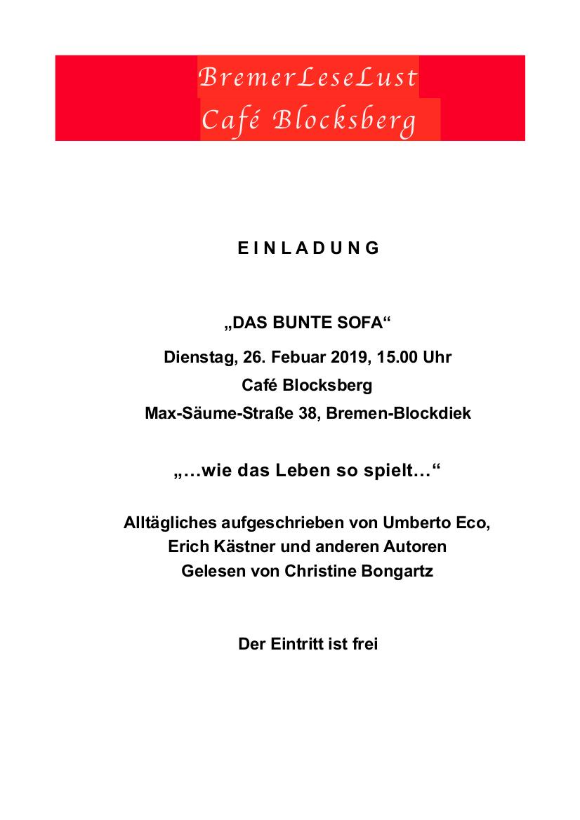 2019-02-Das Bunte Sofa - BremerLeseLust