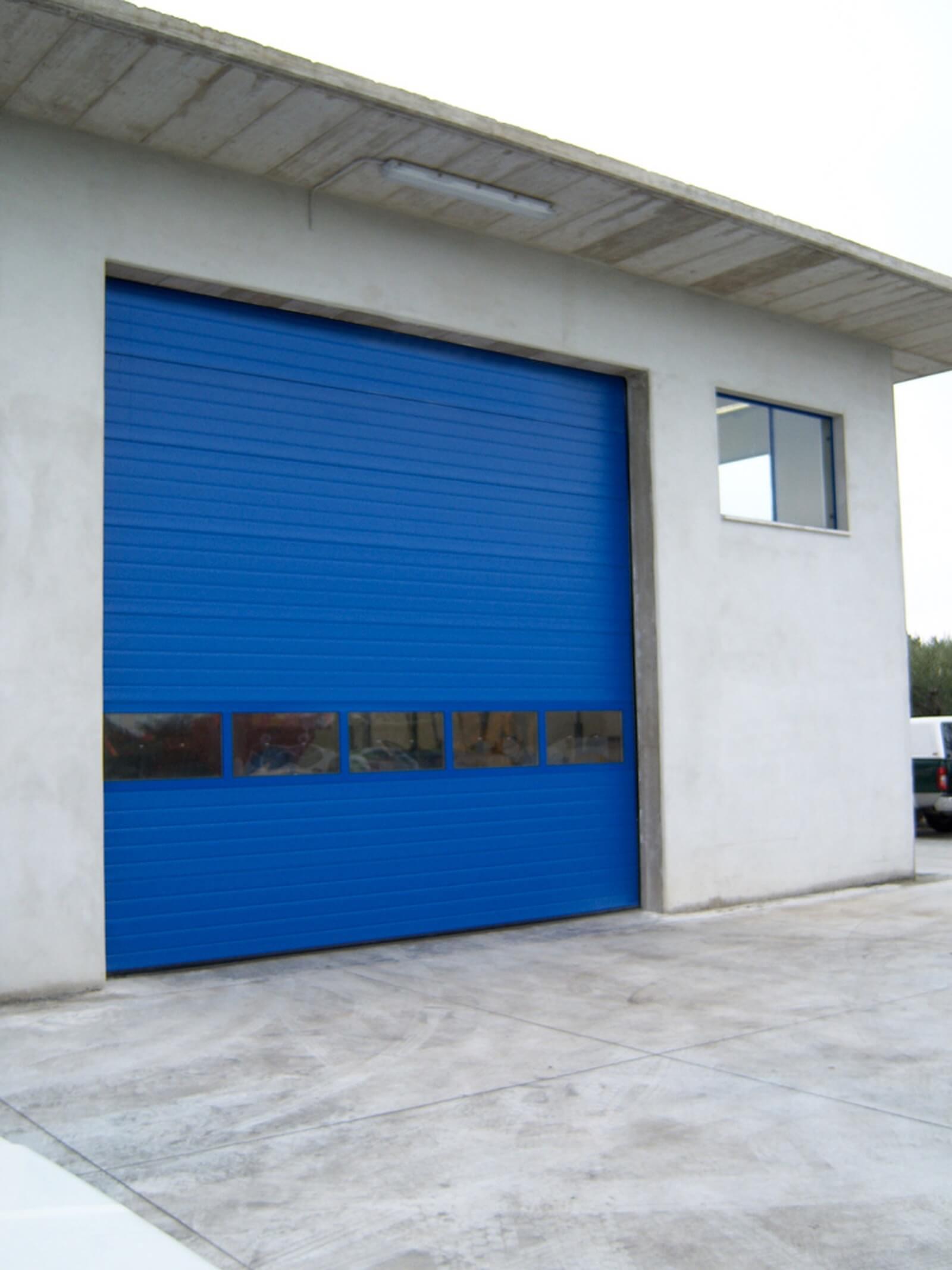 Portone sezionale industriale DCK IL42