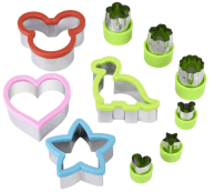 Toddler Cookie Cutters for fruit, vegetables and other foods for picky eaters and mealtime engagement brendadalton.com