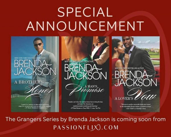 #PassionIsComing with Brenda Jackson's The Grangers Series!