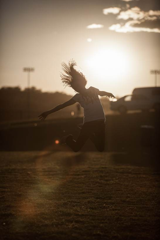 Jump for joy when the world is on your side
