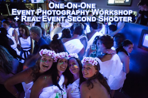 One-On-One Event Photography Workshop