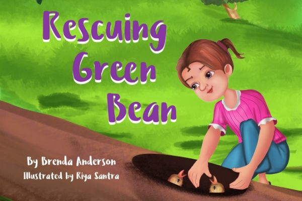 RESCUING GREEN BEAN: A cute kids book