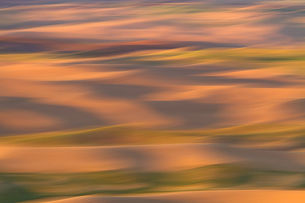 Abstract of the Palouse Hills