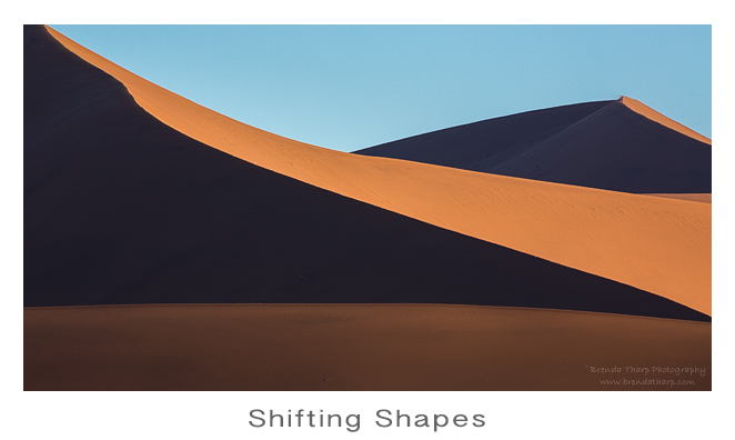 Shifting Shapes in Namibia