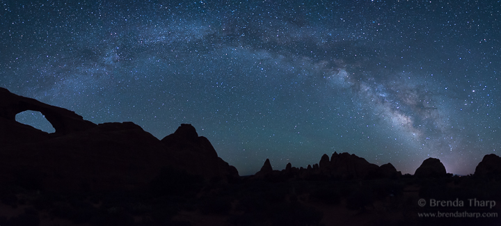 Milky Way Stretching across the sky