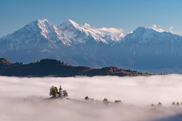 Morning Fog in Slovenia