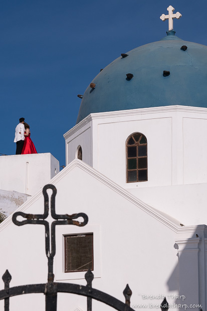 Seeing Beyond in Santorini
