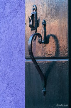 Window Shutter Handle makes a heart shape.