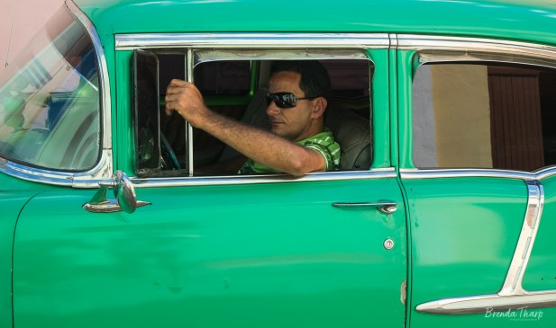 Cruising in Green