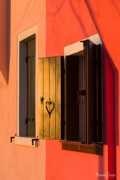Colorful house, Burano, Italy.