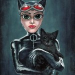 Keane Catwoman painting