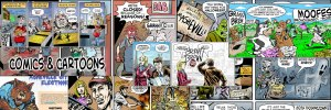 Comics and Cartoons by Brent Brown