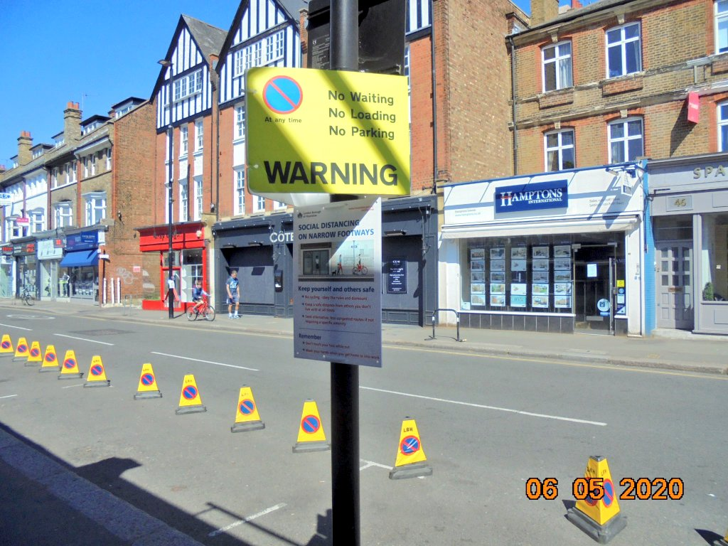 Widening Pavement | Brent Cycling Campaign