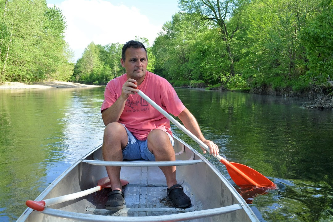Canoeing on the Niangua River