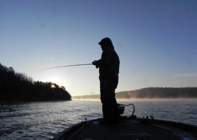 Morning Fishing on Riss