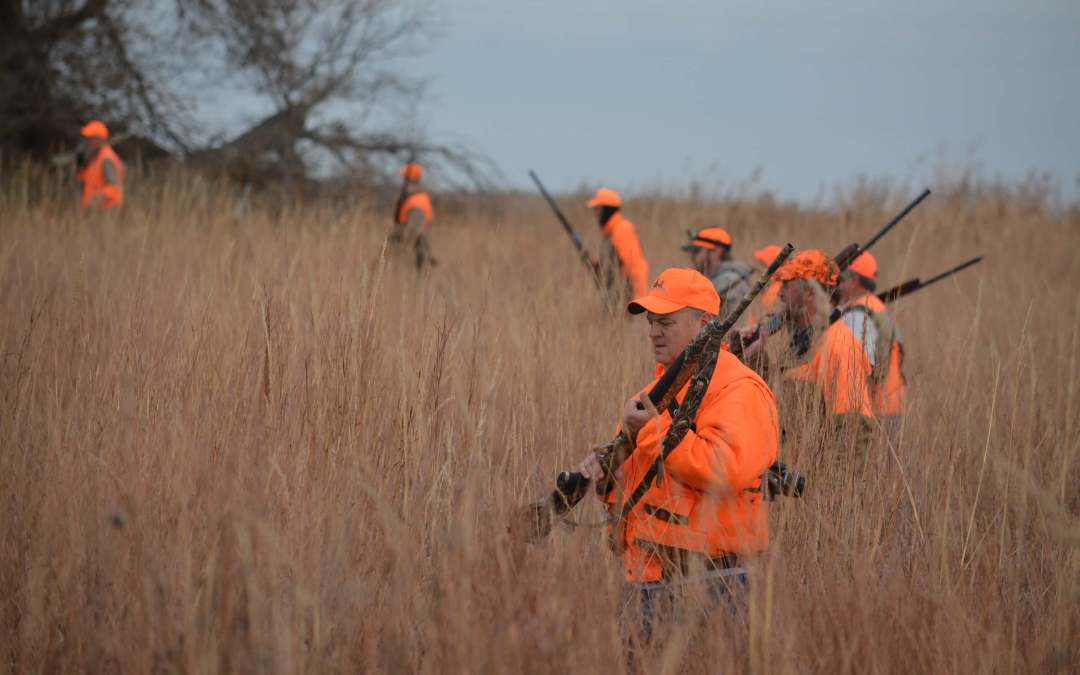 Wildlife outnumbers people in central Kansas