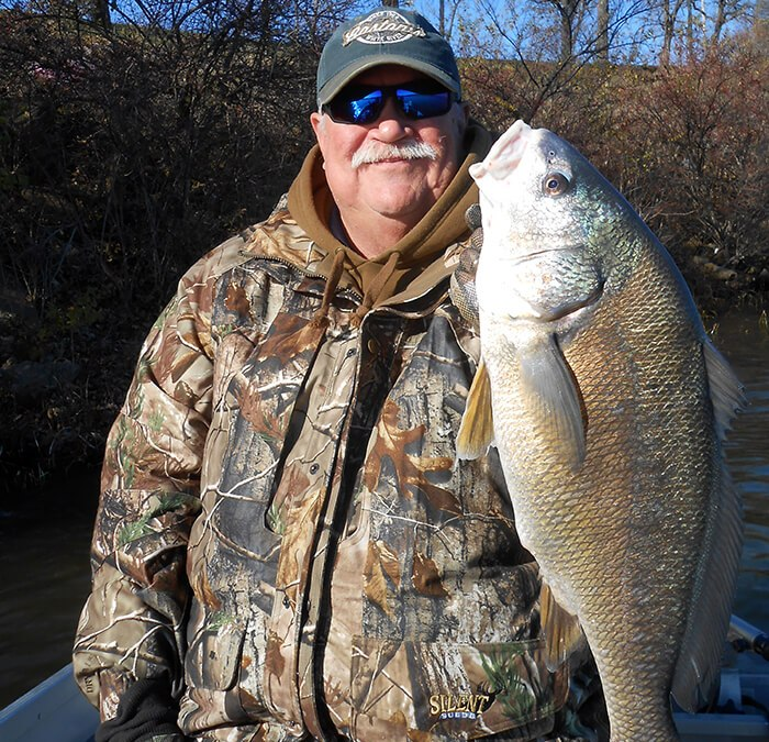 This bass-fishing trip ended up with a 10-pounder in the boat