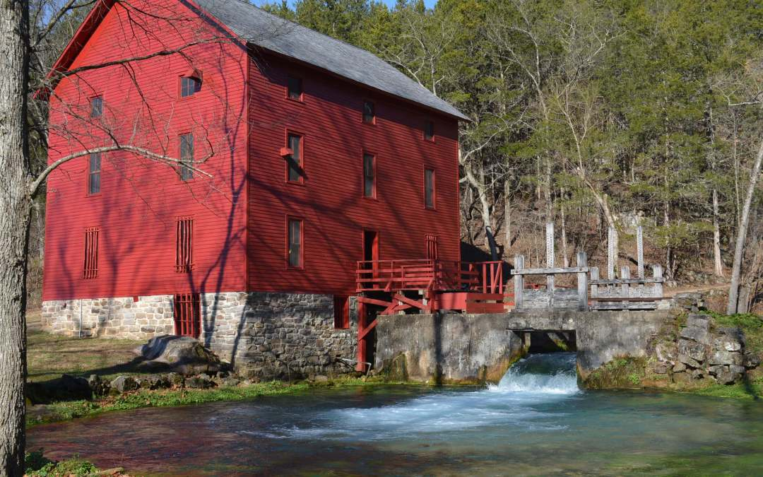Grab your camera. Alley Spring Mill offers perfect photo opps in the Ozarks