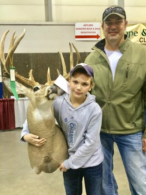 Kansas youngster relates quite a story about his first deer hunt