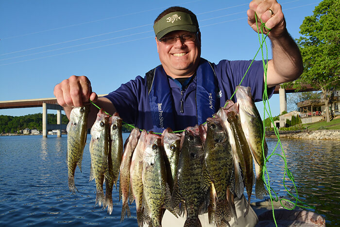 Get the frying pan ready. There will be plenty of crappie fillets sizzling in the grease this year