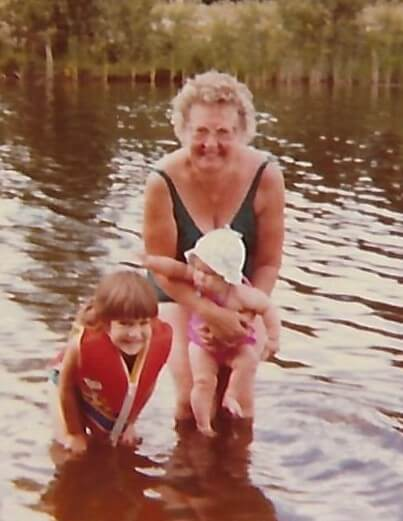 I have fond memories of days spent with my mom at the lake