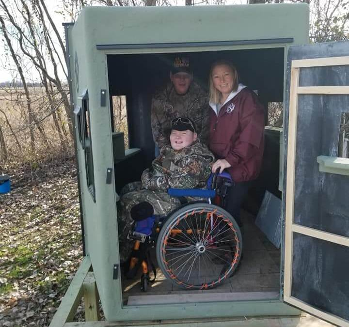 The Grinch loses again in this special Christmas story of a paralyzed boy and his wish to go deer hunting