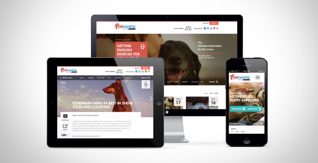 Purina Petcentric Redesign
