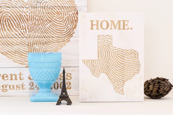 Texas home wall art
