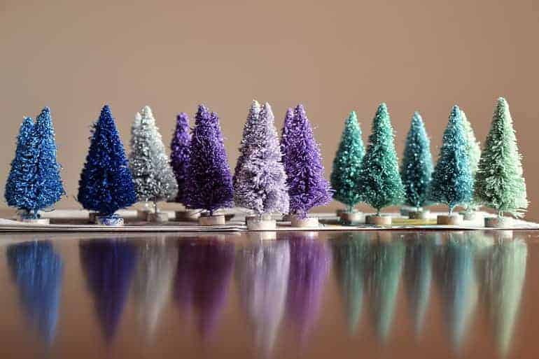 Crazy Christmas Trees