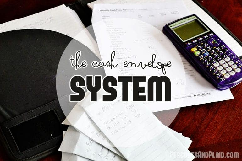 An easy to follow system for using cash envelopes for your monthly budget.