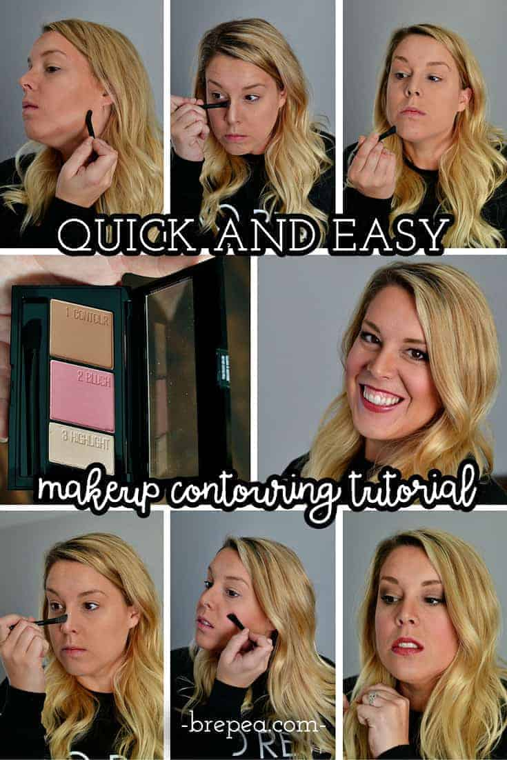 Quick And Easy Makeup Contouring Tutorial