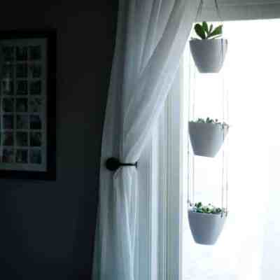 DIY 3-Tiered Hanging Indoor Planter