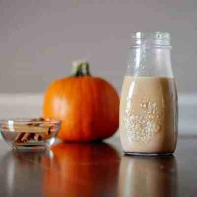 Homemade Dairy-Free Pumpkin Spice Coffee Creamer Recipe