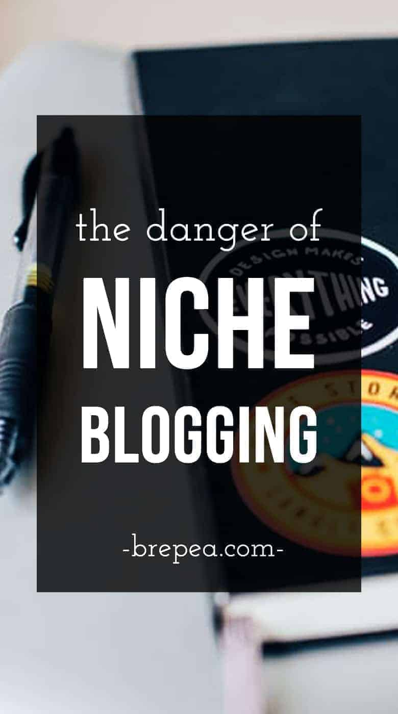 Don't make this common blogging mistake. Niche blogging isn't right for every blog, and this is why!