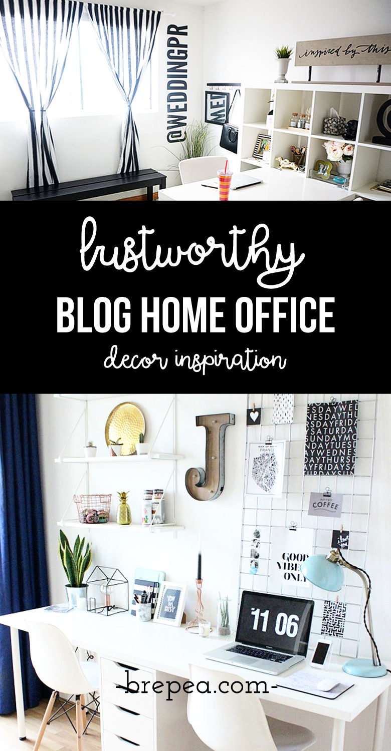 office decor inspiration. These Home Office Decor Ideas Are Something You Can DIY And So Beautiful! Inspiration
